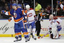 Notre galerie de photos du match remporté 6-3 par les Islanders de New York face au Canadien.