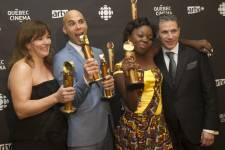 Le film Rebelle est sorti grand gagnant du 15e gala des Jutra s'étant déroulé dimanche, à Montréal.