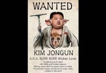 Des représentations caricaturales du dirigeant nord-coréen Kim Jong-Un sont...