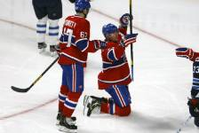 Galerie photo du match du Canadien au Centre Bell contre les Jets de Winnipeg, le 4 mars 2013.