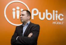 Le grand patron de Public Mobile,Alek Krstajic...