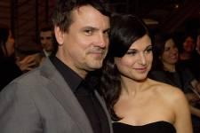 Plusieurs personnalités étaient présentes à la première du film Émilie à l'Usine C le mardi 16 avril 2013.