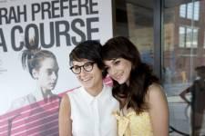 Plusieurs personnalités étaient réunis lundi 3 juin 2013 lors de la première du film <em>Sarah préfère la course</em> au cinéma Impérial.