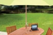 Le Market Umbrella est un parasol équipé d'un...