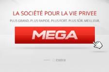 La plateforme d'hébergement et de partage de fichiers en ligne Mega prépare...