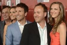 Plusieurs personnalités québécoises étaient présentes lors de la première du film <em>Hot Dog</em> qui se tenait le 31 juillet 2013 à la Place des Arts.