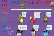L'application Larousse Junior pour iPad....