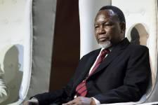 Le vice-président sud-africainKgalema Motlanthe.... (PHOTO STEPHANE DE SAKUTIN, AFP)