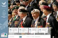 Un site internet officiel du 70e anniversaire du Débarquement de Normandie du 6... (PHOTO TIRÉE D'INTERNET)