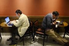 Les internautes chinois auteurs d'un message jugé diffamatoire... (Photo WANG ZHAO, AFP)