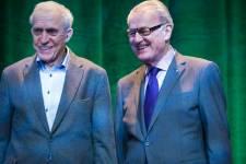 Plusieurs personnalités étaient réunies afin de souligner le 65e anniversaire du Théâtre du Rideau Vert.