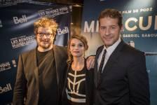 Plusieurs personnalités assistaient à la première du film <em>Miraculum</em> de Podz présenté au Cinéma Impérial dans le cadre des 32es Rendez-vous du cinéma québécois.