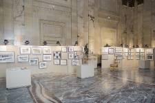 Quelques photos de l'exposition <em>Hommage à Frédéric Back</em> qui se déroule à l'hôtel de ville de Montréal jusqu'au 27 avril 2014.