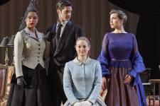 Quelques-uns des costumes que les spectateurs verront lors de la présentation de la pièce <em>Les liaisons dangereuses</em> au Théâtre Jean-Duceppe du 9 avril au 17 mai 2014.
