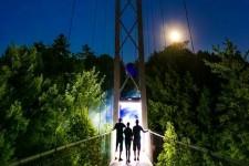 Nos photos du spectacle <em>Foresta Lumina</em> présenté tout l'été au parc de la Gorge de Coaticook.