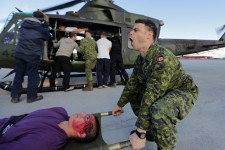La simulation d'écrasement d'avion qui a eu lieu ce matin à Montréal a été un véritable succès selon l'Agence de la santé de Montréal.