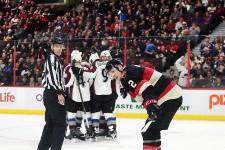 Ottawa a encaissé une deuxième défaite en 24heures, cette fois face au Colorado, devant 17632spectateurs réunis au centre Canadian Tire.