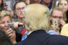 Donald Trump en campagne en Pennsylvanie