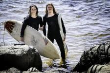 La rivière des Outaouais, un trésor caché pour les surfeurs printaniers.