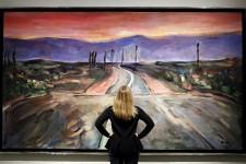 Quelque 200 toiles de Bob Dylan, réalisées ces deux dernières années, sont présentées jusqu'au 11 décembre à la galerie Halcyon, à Londres.