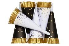 <p><strong>Ce n'est pas une illusion d'optique, une pluie de pois dorés s'est répandue sur les accessoires pour la maison. Ils brillent et pétillent dans nos décors et tombent à point pour les Fêtes.</strong></p>