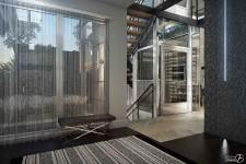 <p><strong>La Maison Tanguay 2017 est contemporaine jusque dans ses moindres détails. Cette année, elle s'inscrit dans la réalité du vieillissement de la population en offrant une nouveauté : un ascenseur panoramique entièrement vitré sur trois niveaux.</strong></p>