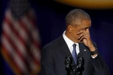 Barack Obama a livré son discours d'adieu chez lui, à Chicago, là même où il avait célébré sa victoire en 2008.