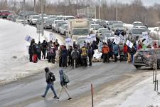 L'accès au campus de l'Université Laval bloqué par du piquetage