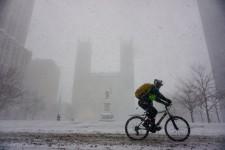 Une dizaine de centimètres de neige est attendue aujourd'hui sur la métropole.