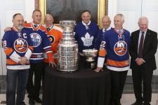 Rideau Hall célèbre le 125e anniversaire de la Coupe Stanley.