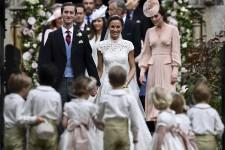 La soeur de Kate Middleton Pippa Middleton, s'est mariée samedi à James Matthews.