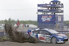 Les manches 5 et 6 du Red Bull Global Rallycross se déroule à Ottawa