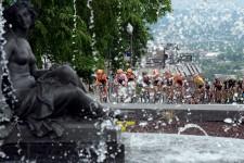 Le Tour de Beauce tenait une épreuve à Québec, samedi.