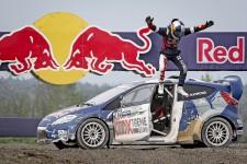 Le Musée de l'aviation et de l'espace du Canada a été l'hôte de deux manches du Red Bull Global Rallycross.