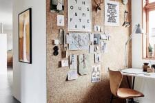 Voici quelques aménagements glanés sur Internet nous invitant à être créatifs au bureau.