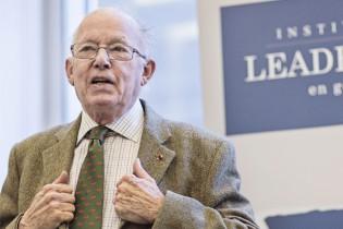 Bernard Landry est l'un des intervenants de renom de l'Institut de leadership