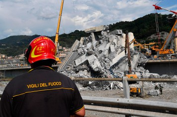 Pont effondré à Gênes: le bilan grimpe à 43morts