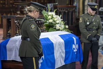 Funérailles de Bernard Landry: pas d'hommage de Marois