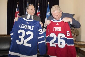 Hydroélectricité: Legault offre à Ford «un <em>deal</em> qu'il ne pourra pas refuser»