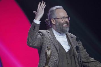 François Bellefeuille, grand gagnant du gala Les Olivier