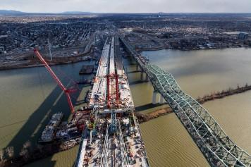 Nouveau pont Champlain: le défi de relier lesdeuxrives