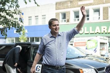 Le Parti conservateur dévoile son slogan