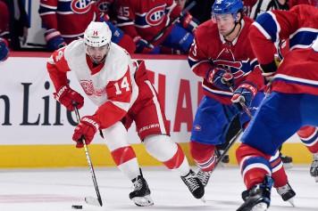 Les Red Wings battent le Canadien2-1
