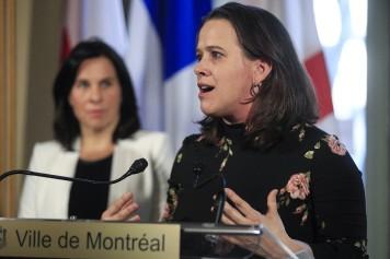 «La transmission communautaire est bien implantée à Montréal», affirme Dre Drouin