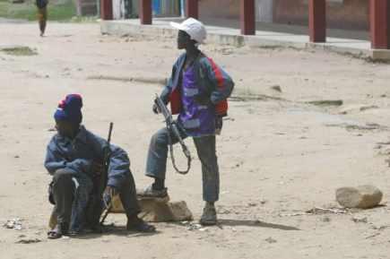 Des enfants soldats... (Photo: AP)