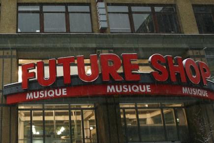 Un magasin Future Shop... (Archives La Presse)