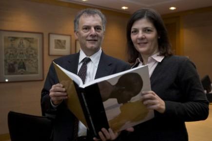 Mario Cavalancia et Christiane Roy... (Photo: André Pichette, La Presse)