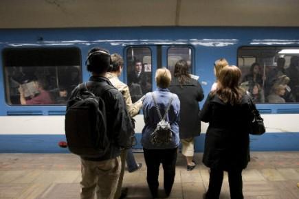 Des usagers du métro.... (Photo Ivanoh Demers, La Presse)