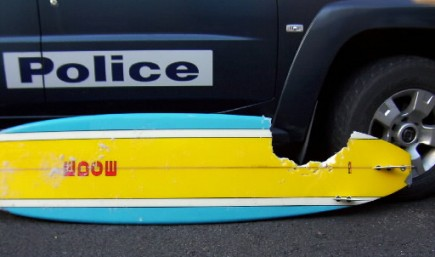 Un requin a pris une croquée sur cette... (Photo: AFP)