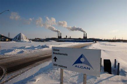 L'ancienne usine d'Alcan a annoncé de Beauharnois.... (La Presse)